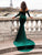 Mermaid Green Prom Dress Cheap Long Sleeve Sexy Prom Dress # VB4656