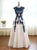 A Line Vintage Prom Dress Lace Cheap African Prom Dress # VB4809