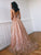 Lace A Line Prom Dress Cheap Long African V Neck Prom Dress # VB4836
