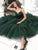 Green Spaghetti Straps Homecoming Dress Tulle Cheap Fashion Homecoming Dress #VB4856