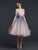 Ombre Cheap Homecoming Dress Off The Shoulder Short Prom Drsess VB4860