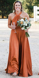 Halter Chic Bridesmaid Dresses Cheap Long Bridesmaid Dresses # VB4872