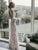 High Neck Lace Wedding Dress Ivory Long Sleeve Backless Wedding Dress # VB4900