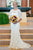 Mermaid Lace Wedding Dresses Ivory Scoop Backless African Wedding Dresses #VB4929