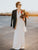 Ivory Chic Wedding Dress Cheap Long A Line Wedding Dress #VB4931