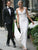 Chic Sequins Wedding Dress Cheap African Sheath Wedding Dress #VB4932