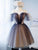 Tulle Cheap Homecoming Dress Sequins A Line Short Prom Drsess VB4947