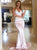 Pearl Pink Backless Prom Dress Cheap Sexy African Prom Dress #VB4954
