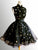 Black African Homecoming Dress Cheap A Line Short Prom Drsess VB4963
