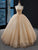 Ball Gown Sequins Prom Dress Cheap Beading Plus Size Prom Dress #VB4975