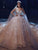 Ball Gown Vintage Wedding Dress Lace Long Sleeve Plus Size Wedding Dress # VB5002
