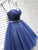 Sparkly Sweetheart Dark Blue Short Prom Dress Beading Homecoming Dress # VB5071