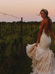 Mermaid Lace Wedding Dresses Sweetheart Sleeveless Bridal Gowns VB5160