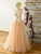 A Line Tulle Sweetheart Lace Long Prom Dress Cheap Formal Dress VB5180