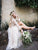 A Line Ivory Cheap Wedding Dresses Lace Bridal Dresses With Sleeves VB5201