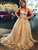 Strapless Lace Prom Dress, A Line African Formal Gown VB5207