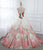 Ball Gown Flower Prom Dress, Sweetheart Cheap Evening Dress VB5222