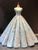 Ball Gown Plus Size Prom Dress Vintage Quinceanera Dress With Sleeve # VB5227