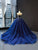Ball Gown Plus Size Prom Dress Vintage Tulle Quinceanera Dress # VB5233