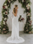 Sheath Long Sleeves Ivory Rustic Lace Backless Wedding Dresses VB5242