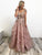 A-Line Lace Prom Dresses Vintage Evening Dress With Sleeve VB5261