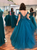 Vintage Tulle Prom Dress Plus Size Off The Shoulder Prom Grown VB5347