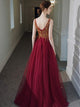 Chic Tulle Prom Dress Beauty Cheap African Prom Grown VB5348