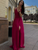 Chic A Line Prom Dress Chiffon Cheap Simple Prom Grown VB5354