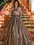 Sequins A Line Prom Dress Cheap Vintage Sweetheart Evening Dress VB5380