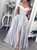 Chic Off The Shoulder Prom Dress Satin A Line Evening Dress VB5386