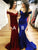 Mermaid Simple Prom Dress Off The Shoulder Beauty Evening Dress VB5391