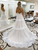 A Line Beach Wedding Dresses, Backless Ivory Lace Bridal Dresses VB5398
