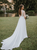 A Line Ivory Wedding Dresses Chiffon Beauty Bridal Gowns VB5401