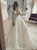 Luxurious Ball Gown Ivory Lace Wedding Dresses, Long Sleeve Bridal Dresses VB5438