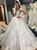 Ball Gown Long Sleeve Wedding Dresses Lace Vintage Scoop Bridal Gowns VB5481