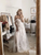 A Line Chic Tulle Wedding Dresse Off The Shoulder Bridal Gown VB5487
