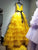 Yellow Tulle Prom Dress A Line Sleeveless Backless Prom Dresses VB5490