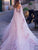A Line Tulle Wedding Dresse Chic Sleeveless Bridal Gown VB5492