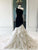 Mermaid Black Prom Dress One Shoulder Sexy Cheap Evening Dress VB5501