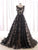A-line Scoop Floor-length Sleeveless Tulle Prom Dress/Evening Dress # VB870
