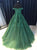 Chic Green Prom Dress Modest Popular Cheap Long Prom Dress #VB947