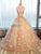 Ball Gown Scoop Floor-length Sleeveless Tulle Prom Dress/Evening Dress # VB952