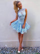 A-line Homecoming Dress 2017 Short Prom Drsess Homecoming Dresses kmy236