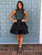 A-line Homecoming Dress Short Prom Drsess Homecoming Dresses kmy330