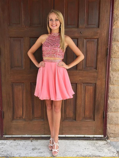 A-line Homecoming Dress Short Prom Drsess Homecoming Dresses kmy337