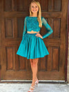 A-line Homecoming Dress Short Prom Drsess Homecoming Dresses kmy340