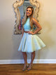 A-line Homecoming Dress Short Prom Drsess Homecoming Dresses kmy351