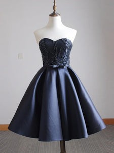 2017 A-line Sweetheart Short Homecoming Dress Cooktail Dress kmy477 - DemiDress.com