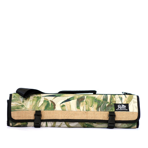 KNIFE BAG CREME FLORAL