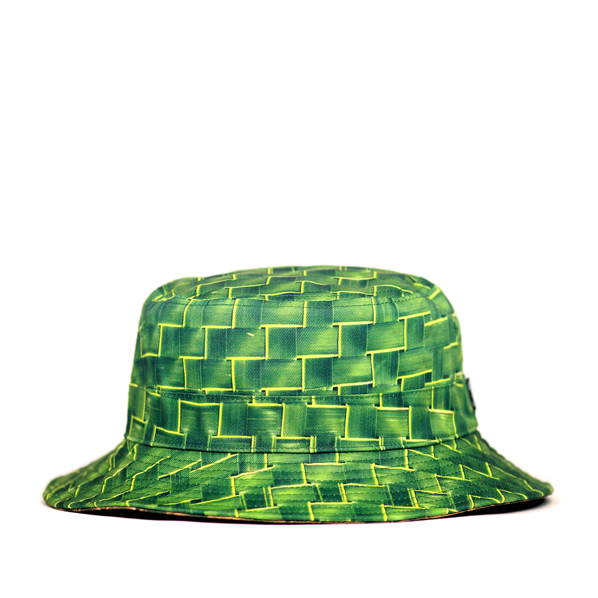 "REVERSIBLE ""TUHONG"" BUCKET HAT"